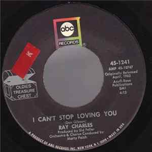 Ray Charles - I Can't Stop Loving You / You Are My Sunshine Album