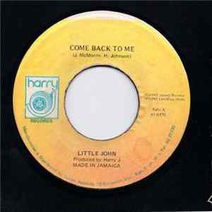Little John - Come Back To Me Album