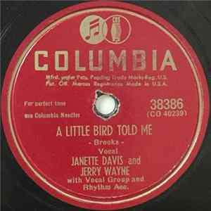 Janette Davis And Jerry Wayne - A Little Bird Told Me / If That Isn't Love, What Is? Album